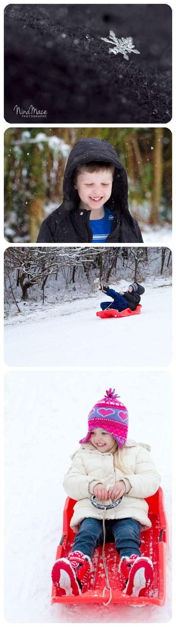 macro snowflake and snow day in Hemel Hempstead