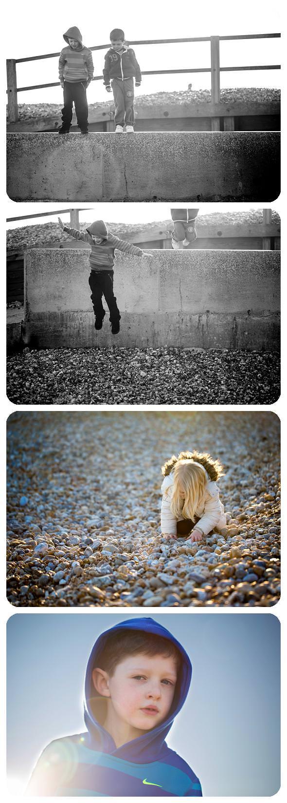 Photos taken on Bognor Beach by Hemel Hempstead Photographer Nina Mace