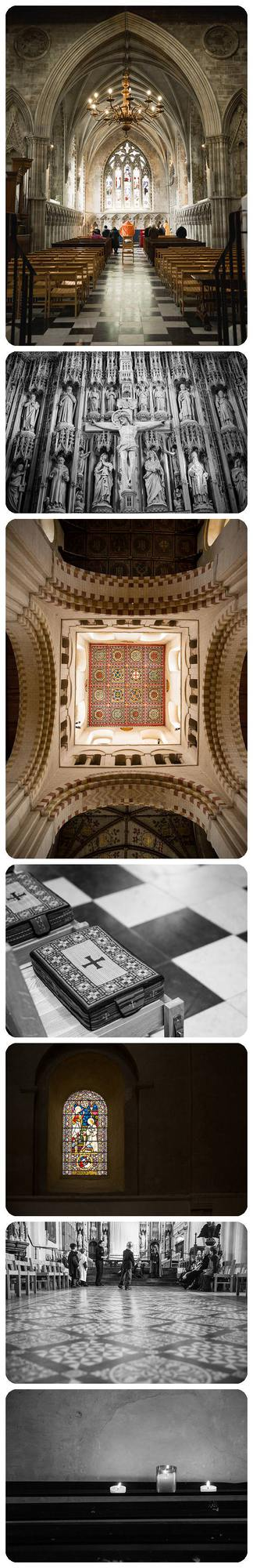 Photographing St Albans Cathedral