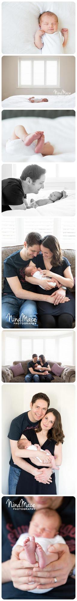 Newborn baby photo session in Berkhamstead