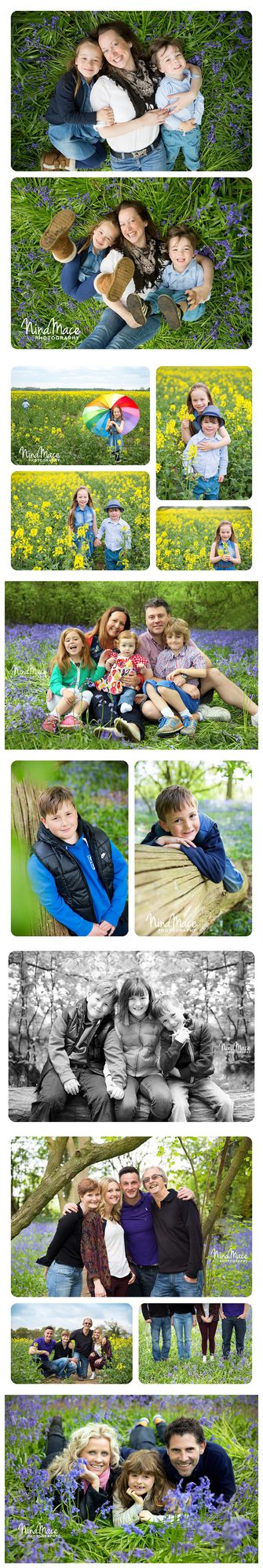 Outdoor family photo sessions in Hemel Hempstead