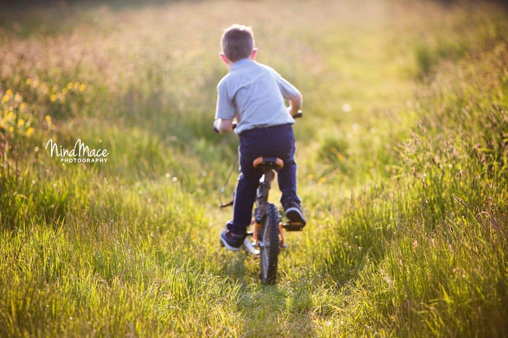 Sunset bike ride at Bunkers Lane Hemel Hempstead