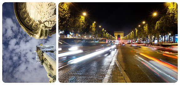 Nighttime street photography in Paris