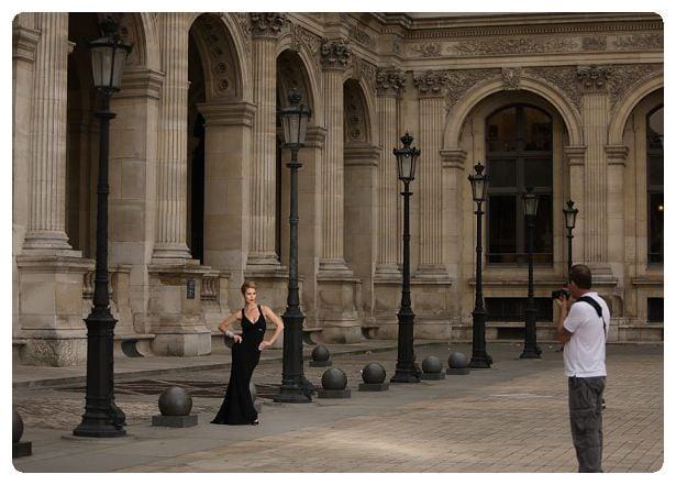 Behind the scenes in Paris