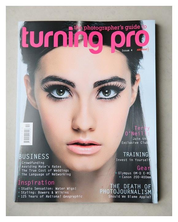 Turning Pro Magazine with Nina