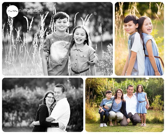 Family photo session in Wraysbury