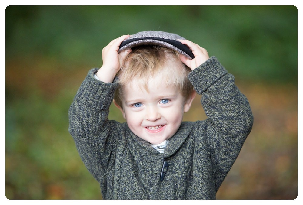 Outdoor family photo session in Hemel Hempstead