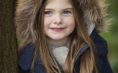 Winter portraits – children's photography Hemel Hempstead