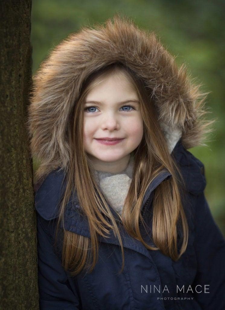Winter portraits – children's photography Hemel Hempstead