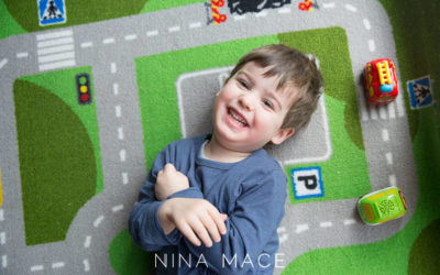 Children's photographer Nina Mace: Smile project