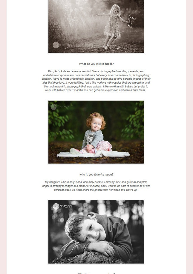 Hertfordshire photographer feature Privizzinis Passion Photography