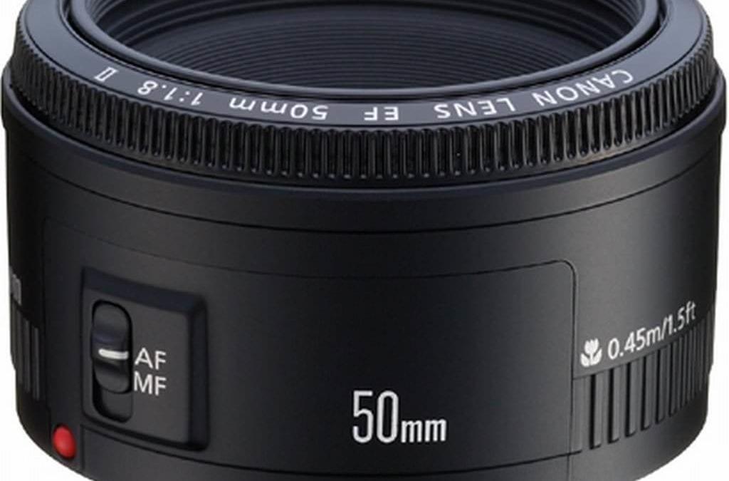Canon 50 1.8 lens