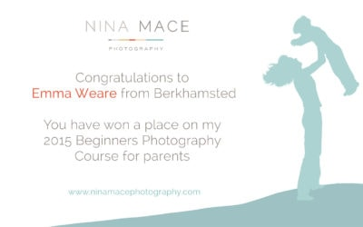 Beginners Photography Competition winner