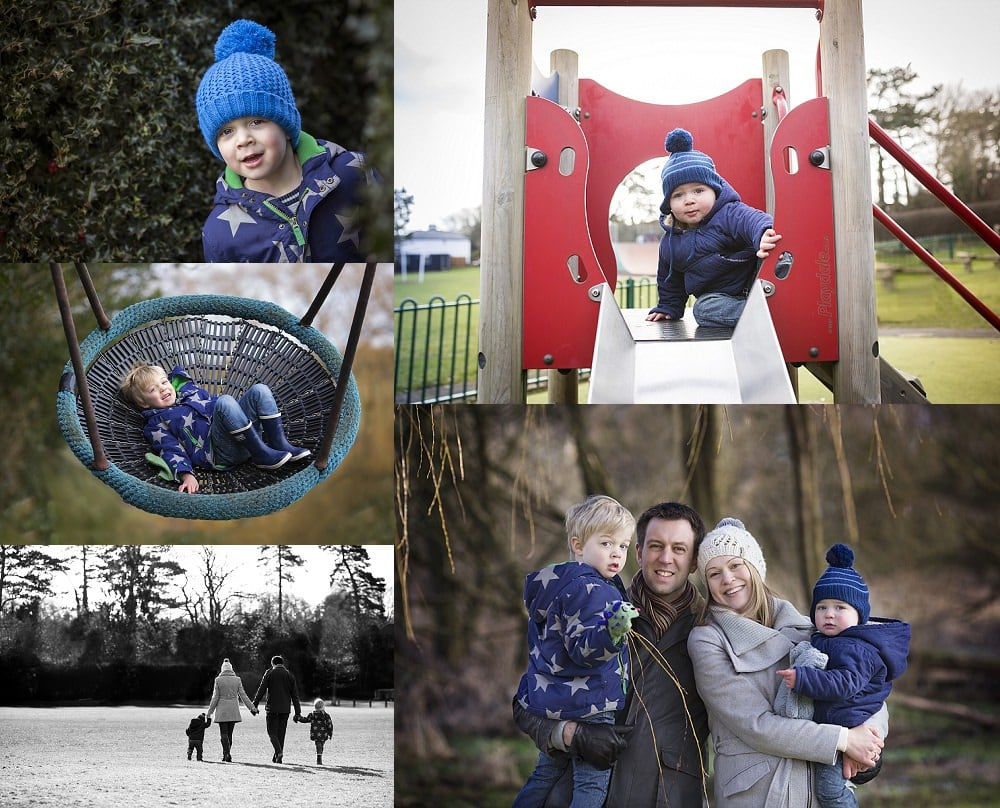 family photo shoot in Berkhamsted Park