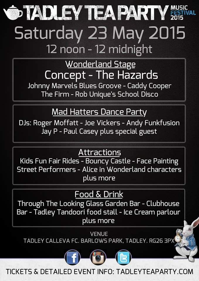 Tadley Tea Party live music event
