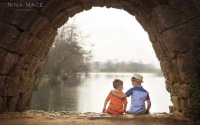 Family photo shoot Stowe Gardens