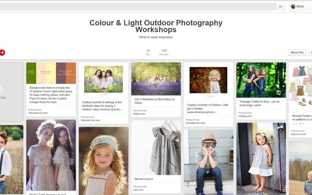 childrens photographer what to wear