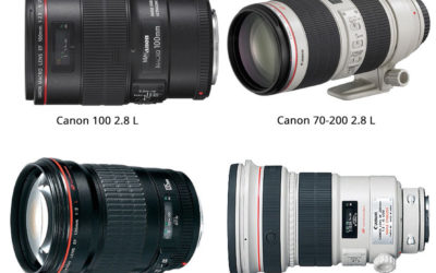 Comparing the big 4 Canon outdoor lenses