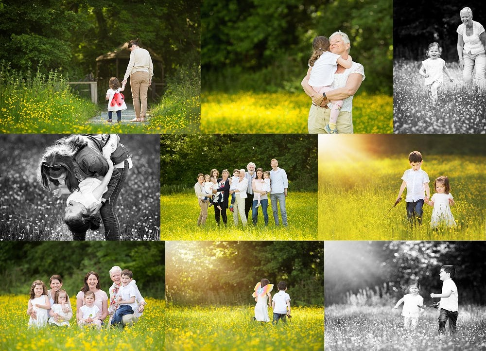 Outdoor family shoot Hemel Hempstead