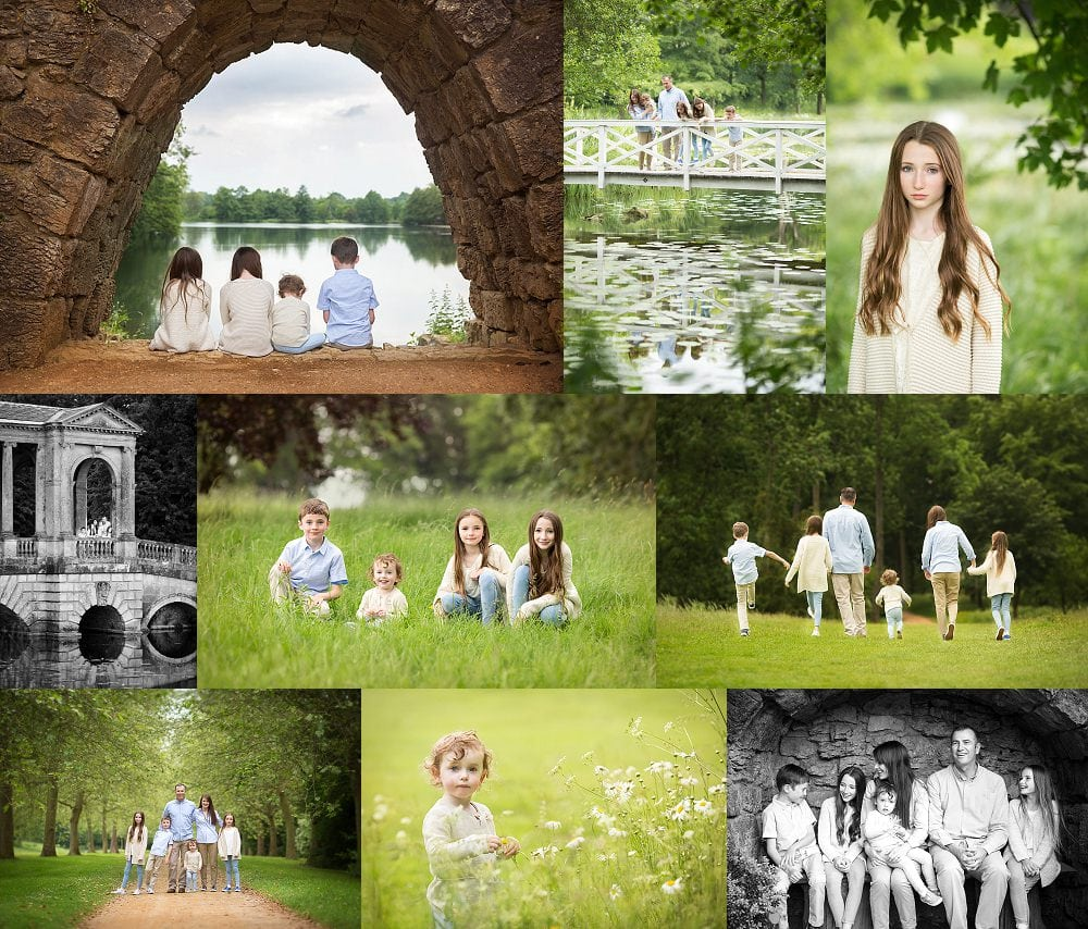 family shoot Buckinghamshire