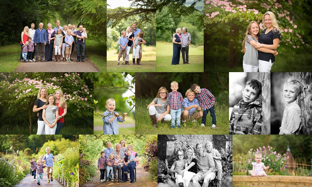 family photo shoot in Devon