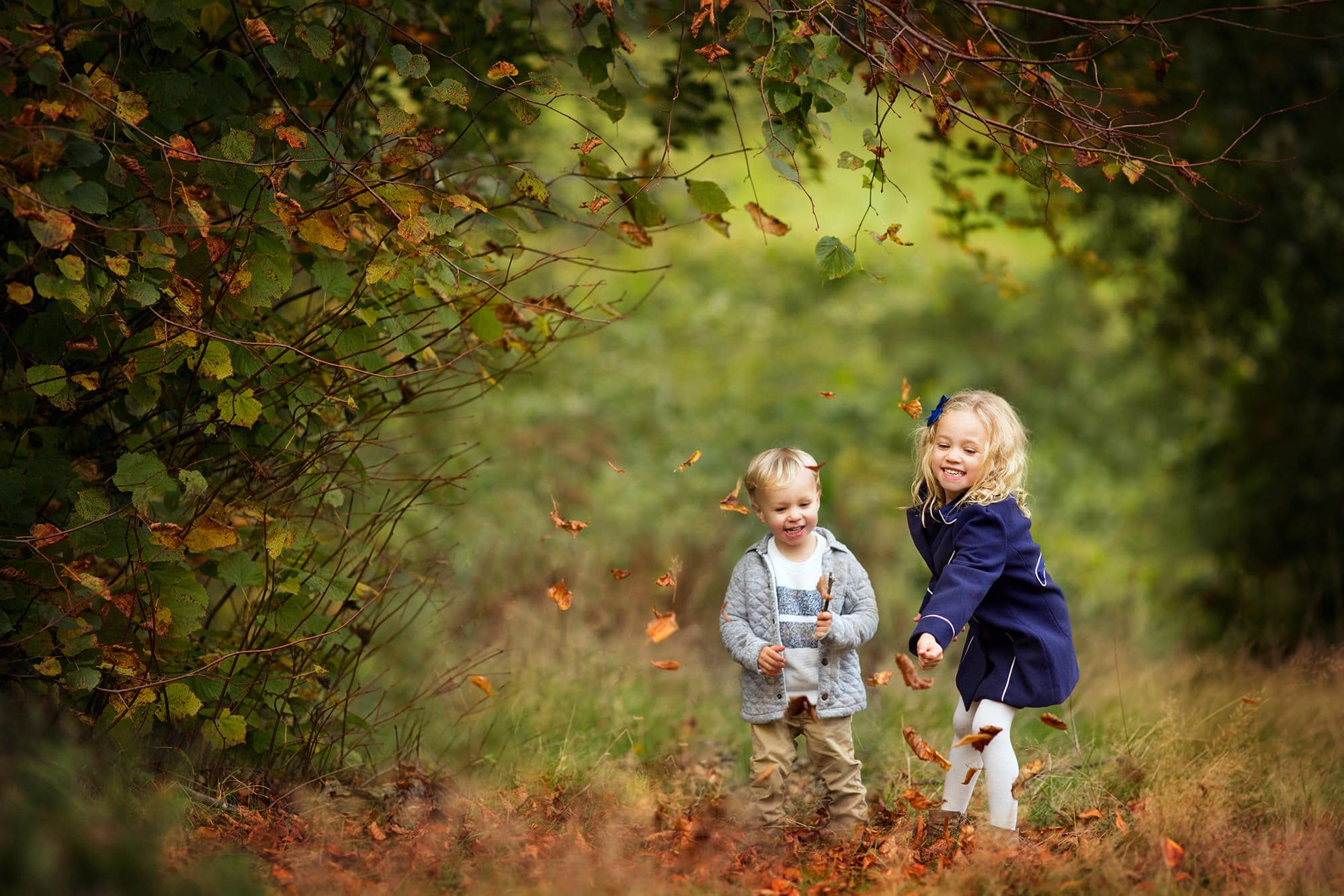 Outdoor children's photographer Hemel