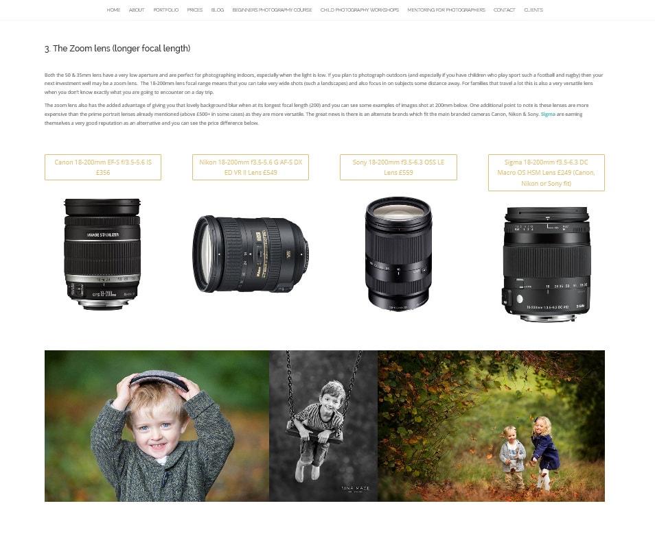 Best inexpensive lenses for beginner photographers