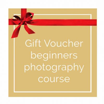 Beginners photography course Surrey gift voucher