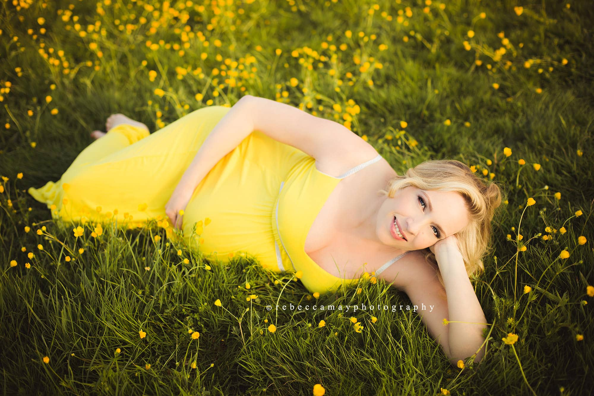 maternity spring shoot