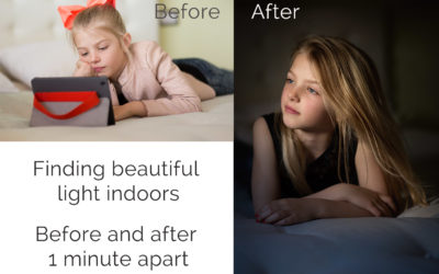 Photographing children : Tips for creating interesting light indoors