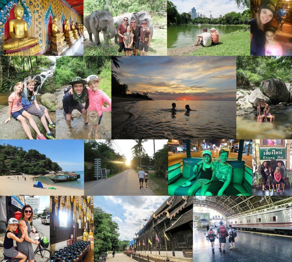 Our first family backpacking trip to Thailand