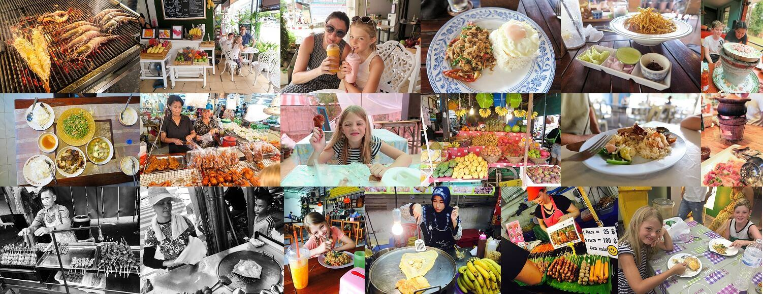 Eating with children in Thailand