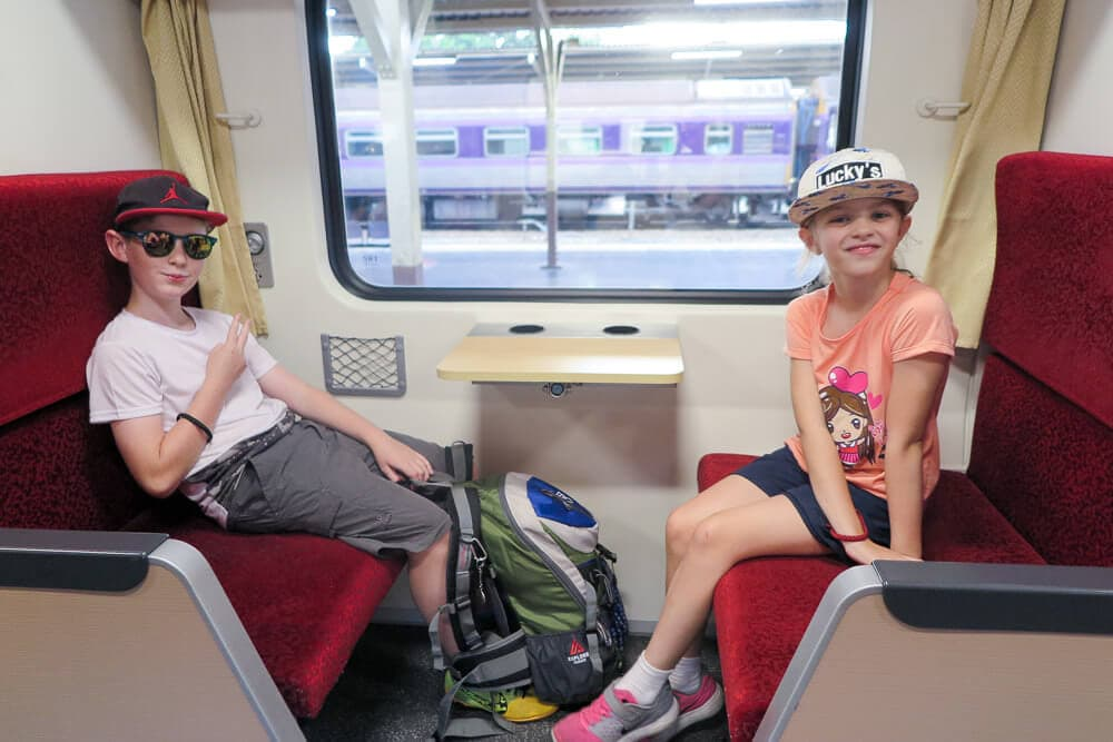 Overnight train Bangkok to Chiang Mai
