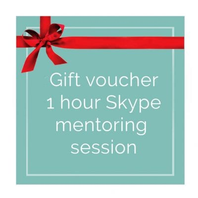 gift voucher for photography mentoring