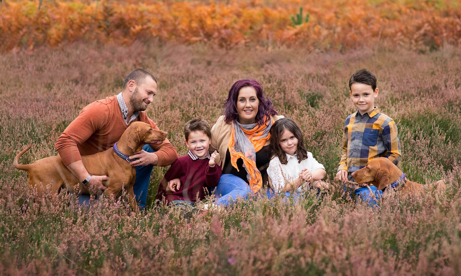 Outdoor family photography Surrey
