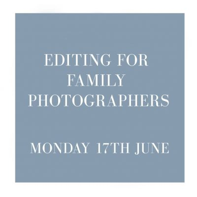 editing workshops for photographers