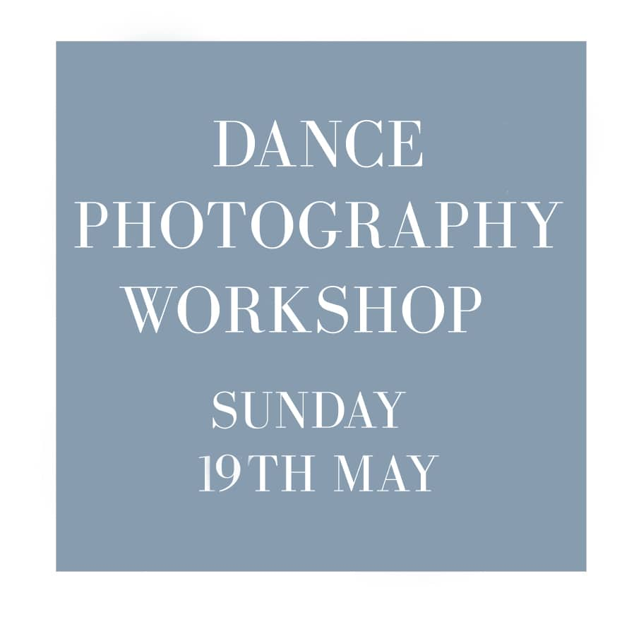 dance photography workshop