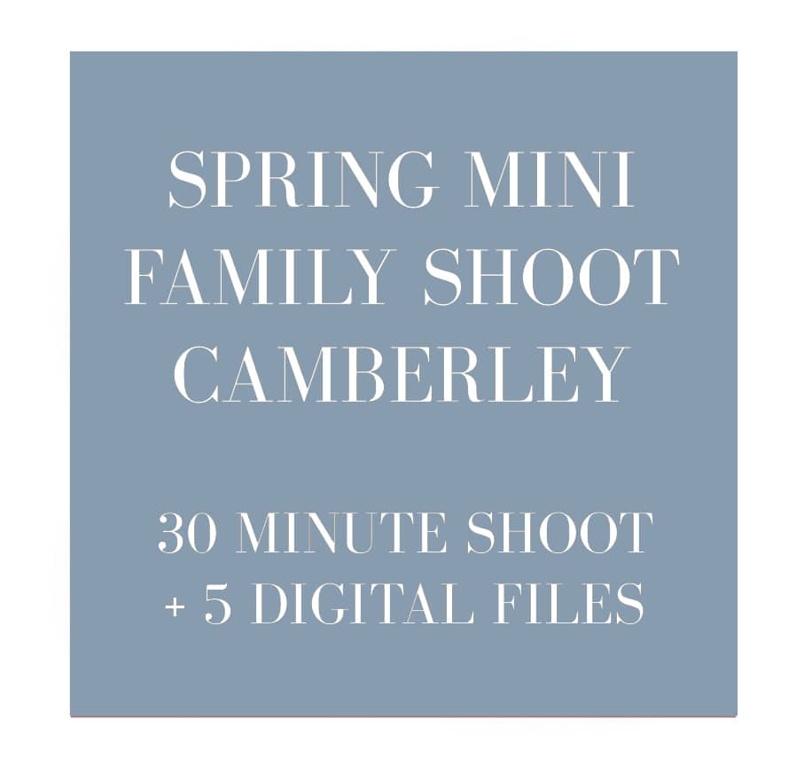 family photographer camberley