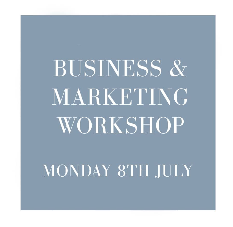business workshops for photographers