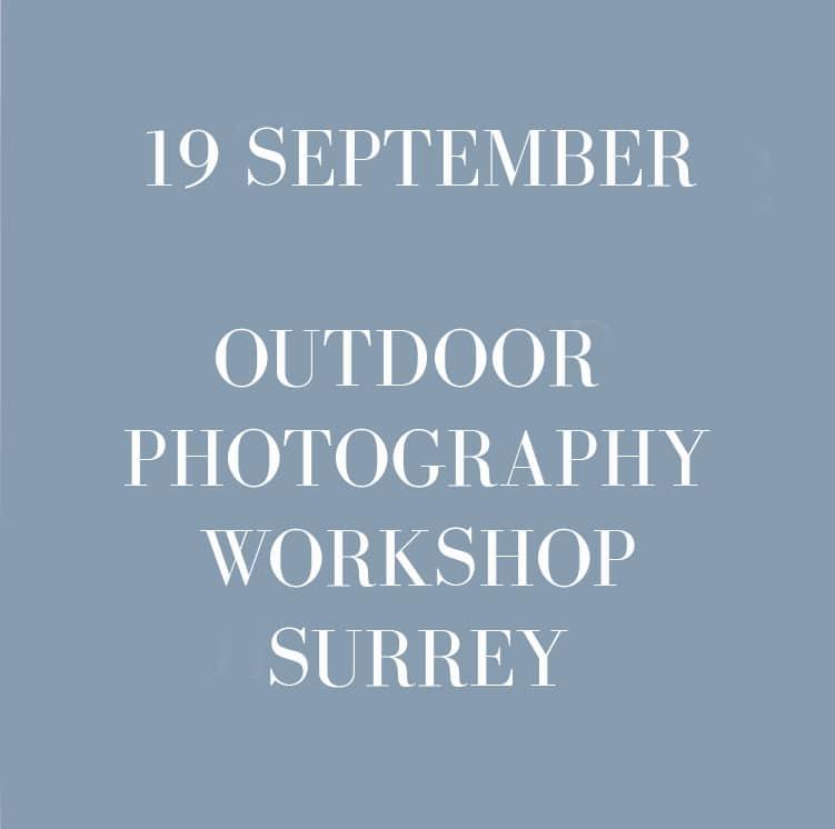 photography workshop surrey