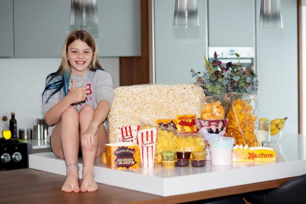 Friday night cinema treat in Lockdown