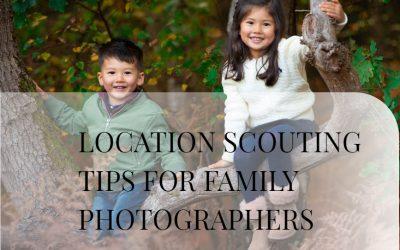 Location scouting for family photographers