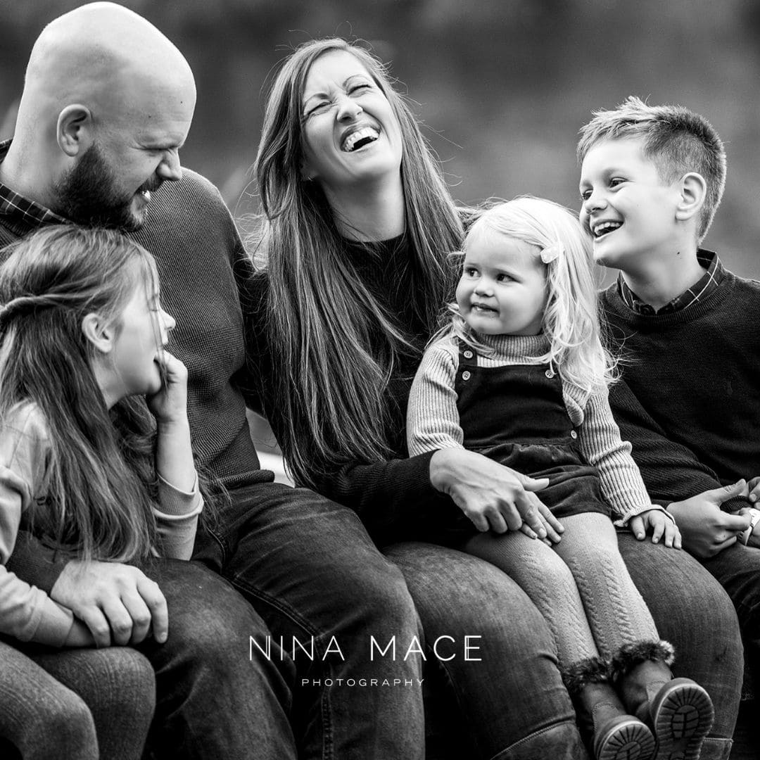 Modern family photoshoots in Camberley, Surrey