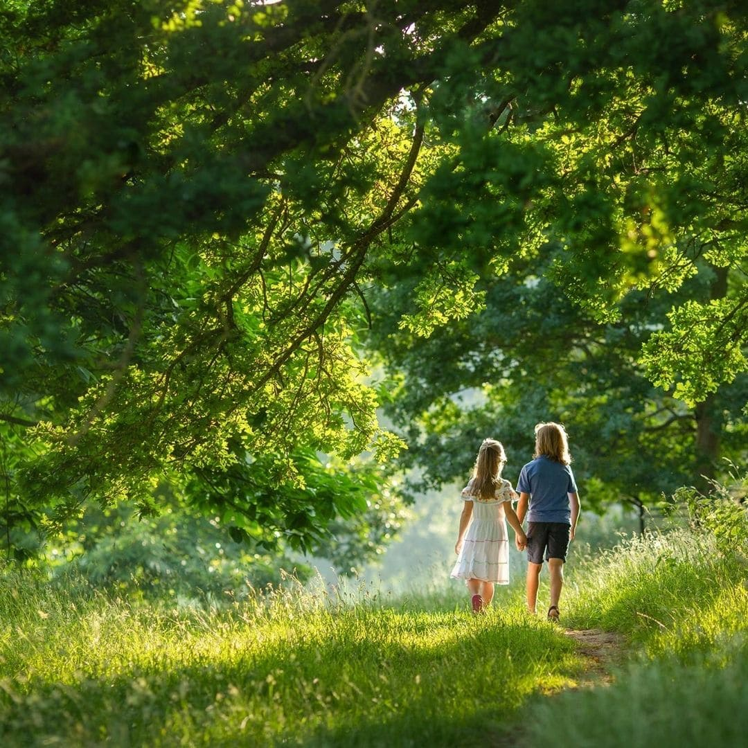 Outdoor family photography training