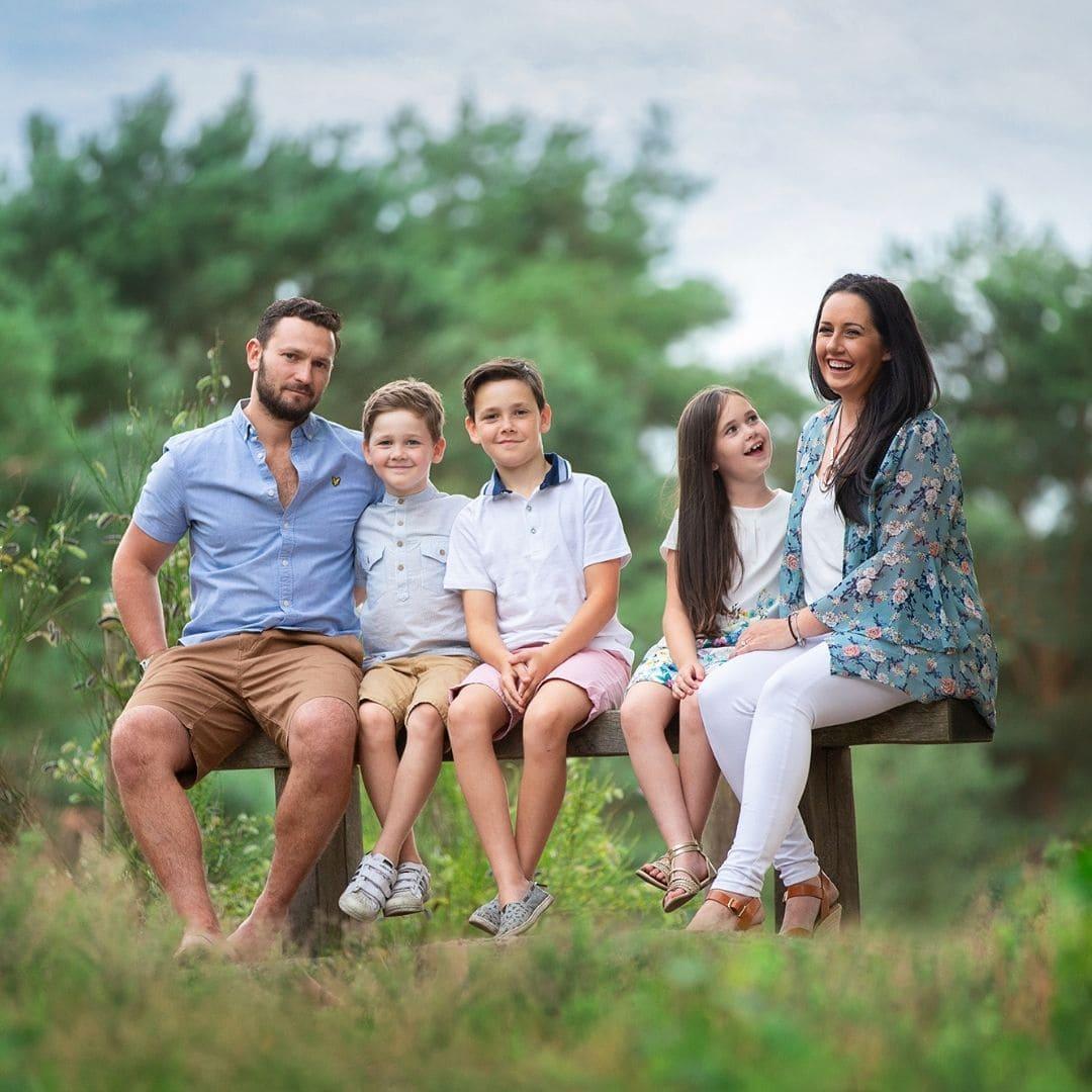 Family photography training with Nina Mace in Surrey
