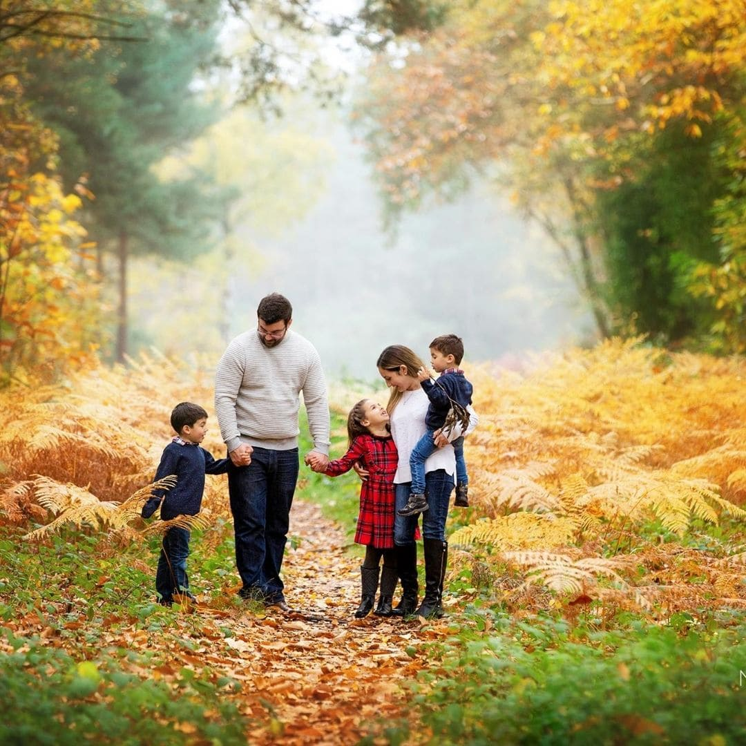 Camberley Family photographer Autumn shoot