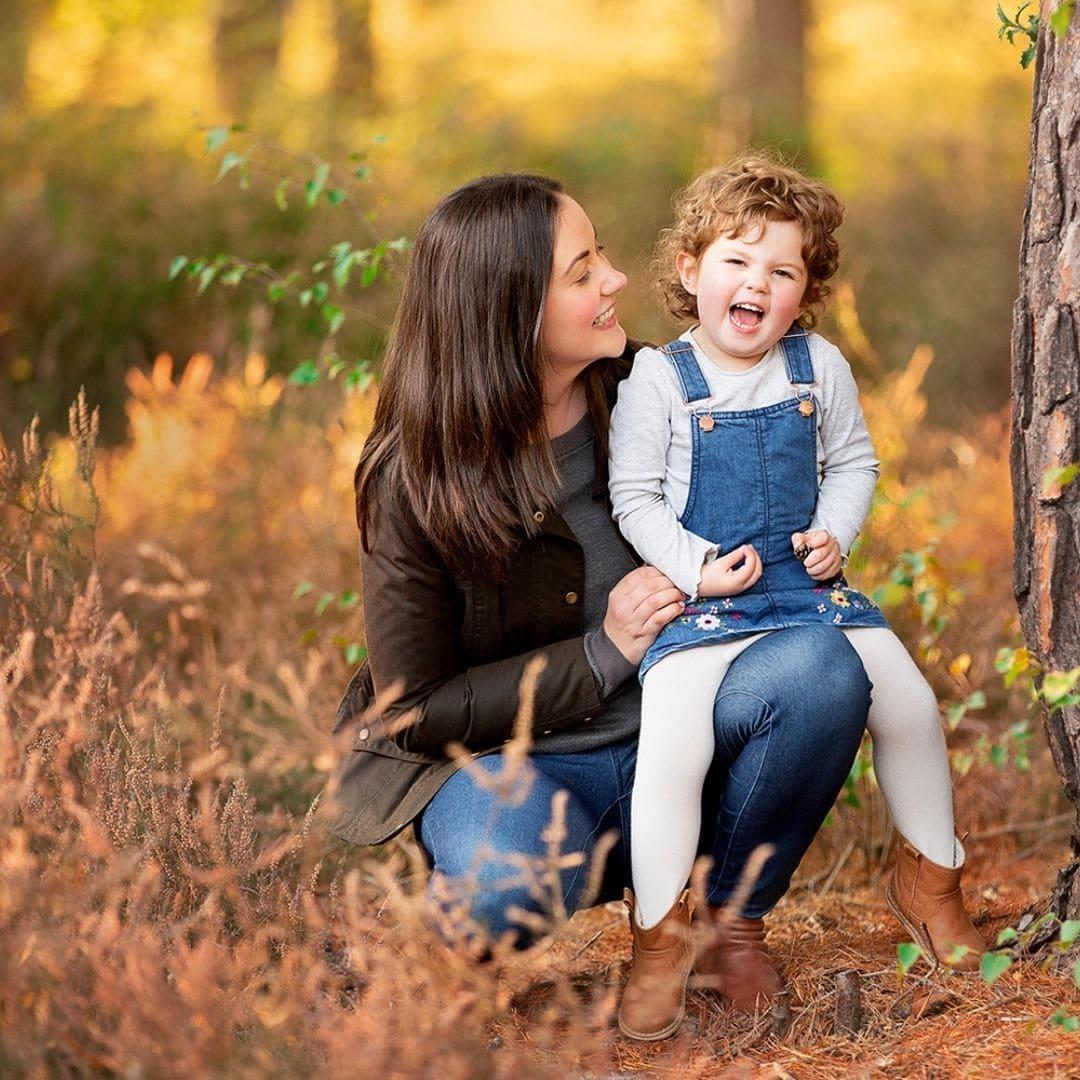 Outdoor family photographer in Camberley Nina Mace